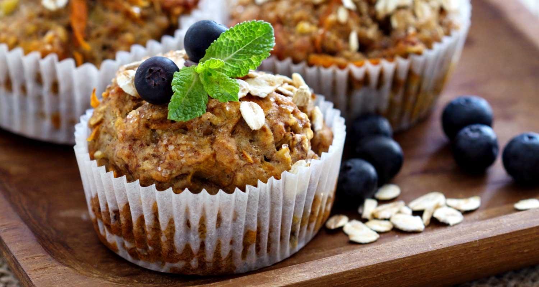 Pumpkin-Raisin Muffins | Holiday Plant-based Vegan Recipes | Naked Food Magazine
