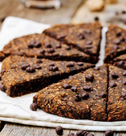 Raw and Naked Cacao Scones | Holiday Plant-based Vegan Recipes | Naked Food Magazine