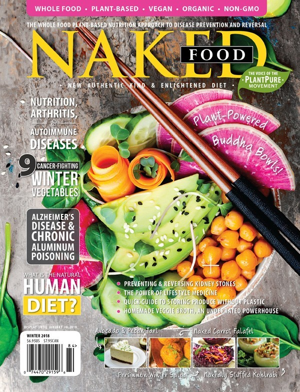 Naked Food Magazine Winter 2018