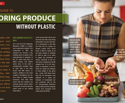 Naked Food Magazine Winter 2018 | Storing Produce Without Plastic