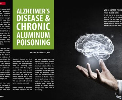 Naked Food Magazine Winter 2018 | Alzheimer's Disease and Chronic Aluminum Poisoning