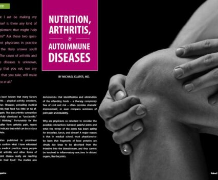 Naked Food Magazine Winter 2018 | Nutrition, Arthritis, and Autoimmune Diseases
