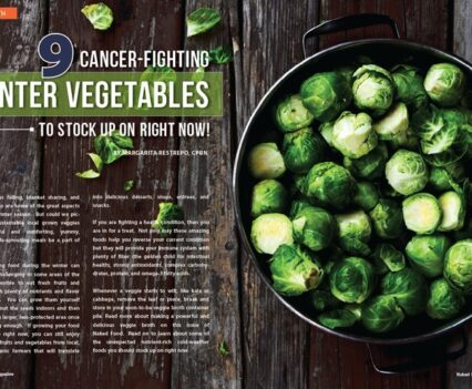 Naked Food Magazine Winter 2018 | 9 Cancer-Fighting Winter Vegetables