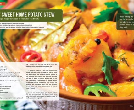 Naked Food Magazine Winter 2018 | Home Sweet Home Potato Stew