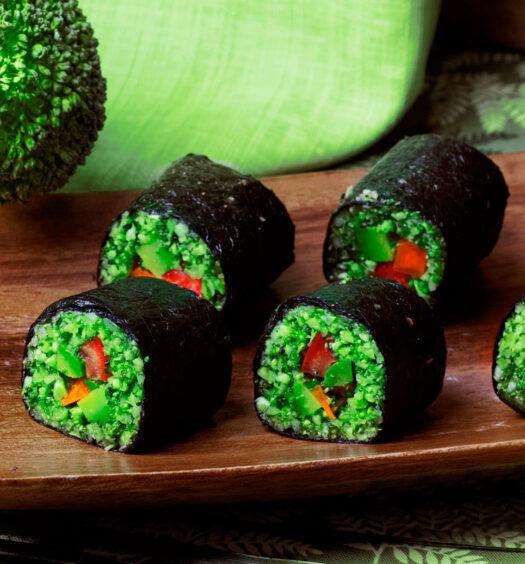 Almighty Sushi Rolls   Plant-based Vegan Recipes   Naked Food Magazine