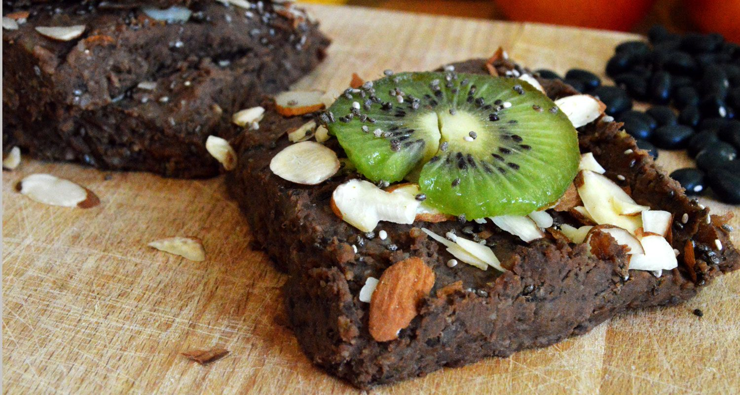 5-Minute Black Bean Brownies | Naked Food Magazine