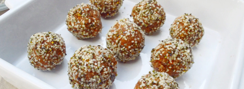 5-Minute Carrot Truffles | Naked Food Magazine