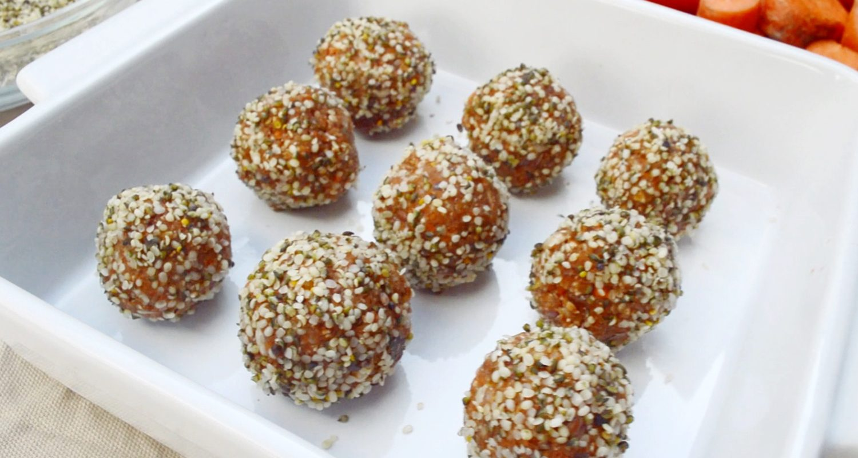 5-Minute Carrot Truffles   Naked Food Magazine