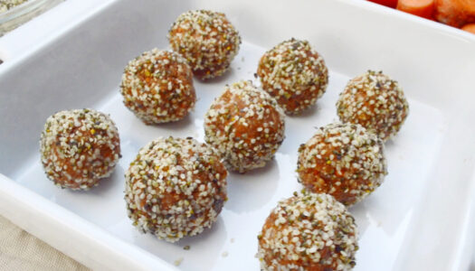 5-Minute Carrot Truffles