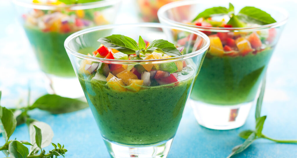 Naked Holiday Gazpacho | Plant-based Vegan Recipes | Naked Food Magazine