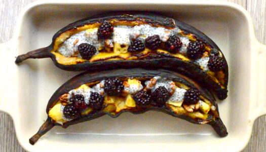 Loaded Baked Plantains