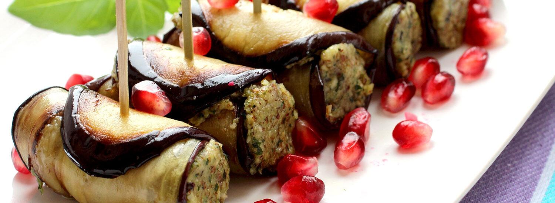 Gourmet Eggplant Rollatini | Naked Food Magazine