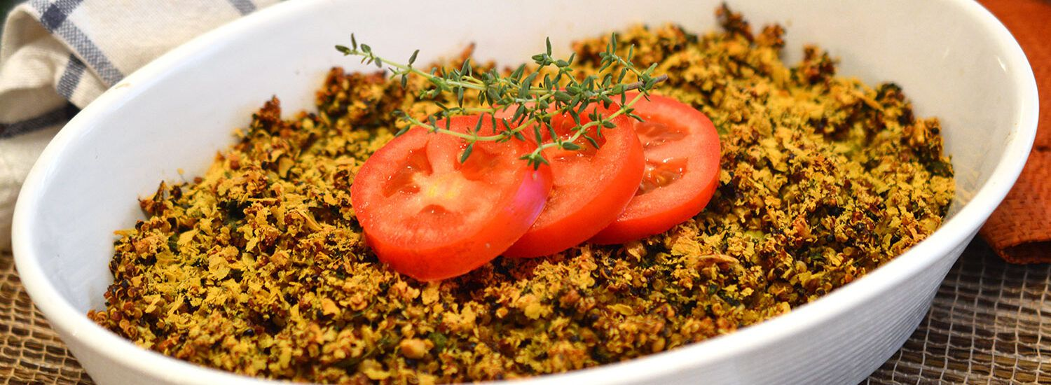 Winter Quinoa Bake | Naked Food Magazine