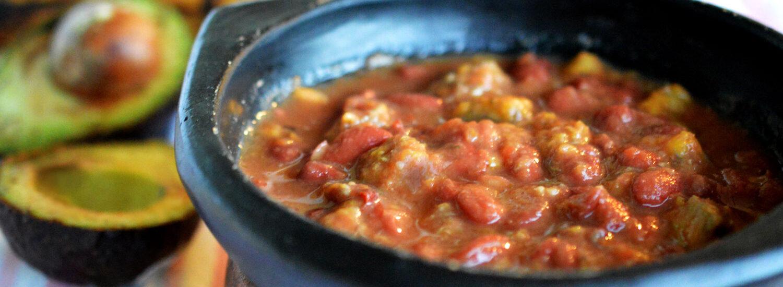 Bean Stew / Frijolada | Naked food Magazine