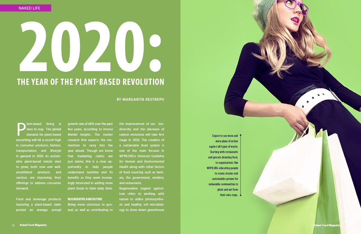 Naked Food Magazine | Winter 2020 - Year Of The Plant